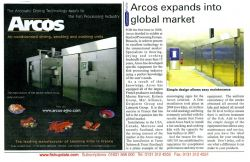 """ARCOS expands into global market"" - FISHupdate - juin 2008"