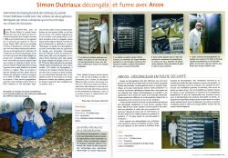 """Simon Dutriaux thaws and smokes with ARCOS"" - Seafood - Oct / Nov 2008"